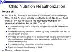 child nutrition reauthorization14