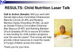 results child nutrition laser talk19
