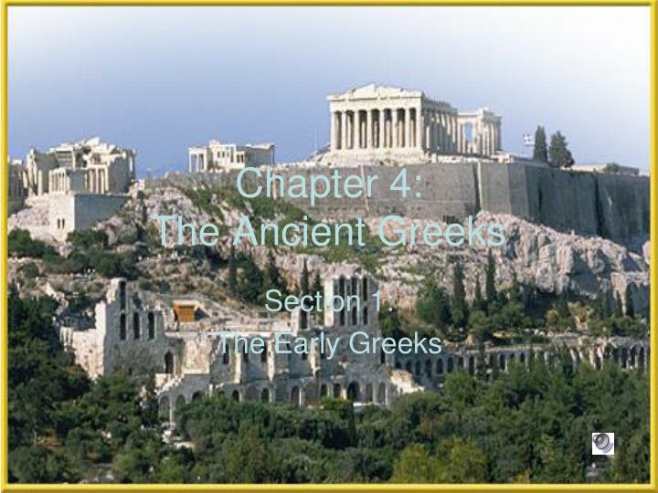 chapter 4 the ancient greeks n.