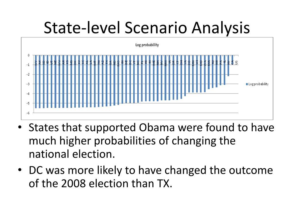 State-level Scenario Analysis