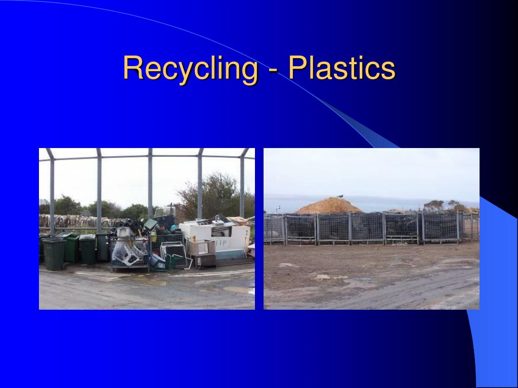 Recycling - Plastics