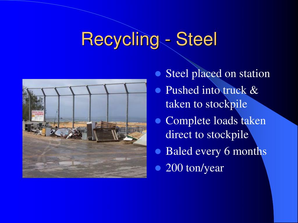 Recycling - Steel