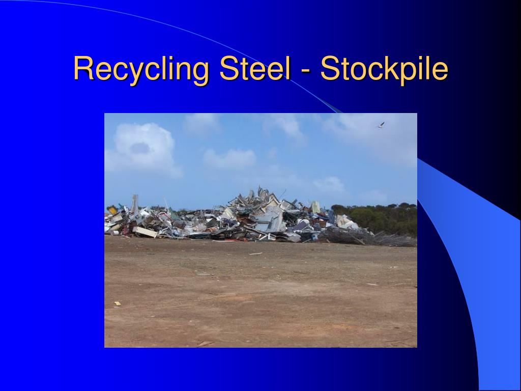Recycling Steel - Stockpile