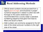 rural addressing methods7