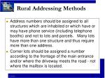 rural addressing methods8
