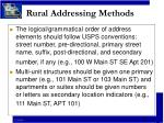 rural addressing methods9