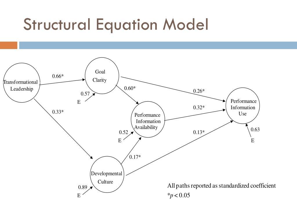 Structural Equation Model
