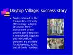daytop village success story
