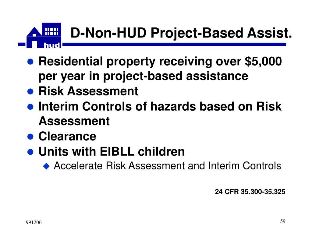 D-Non-HUD Project-Based Assist.