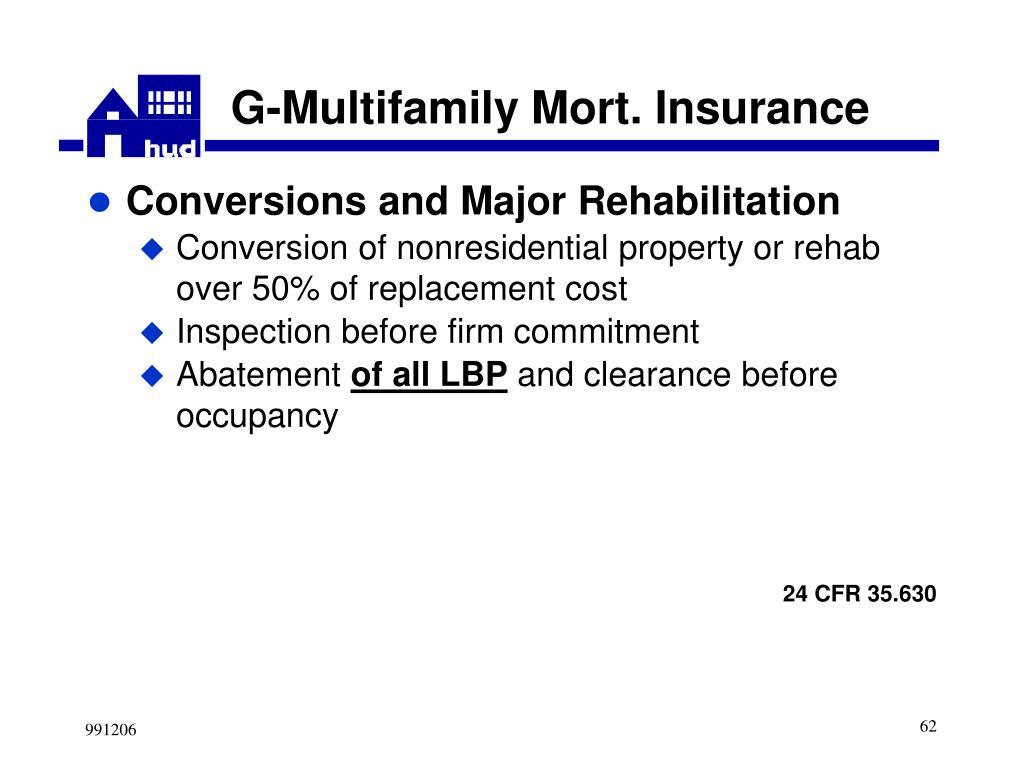 G-Multifamily Mort. Insurance