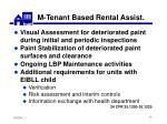 m tenant based rental assist