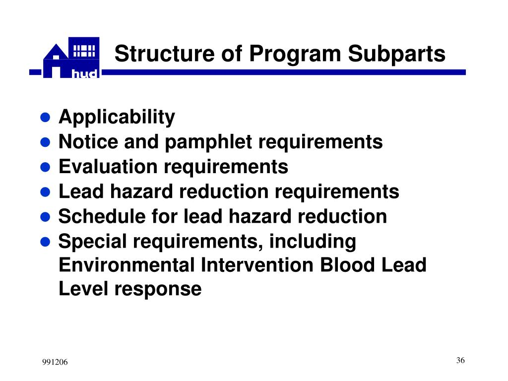 Structure of Program Subparts