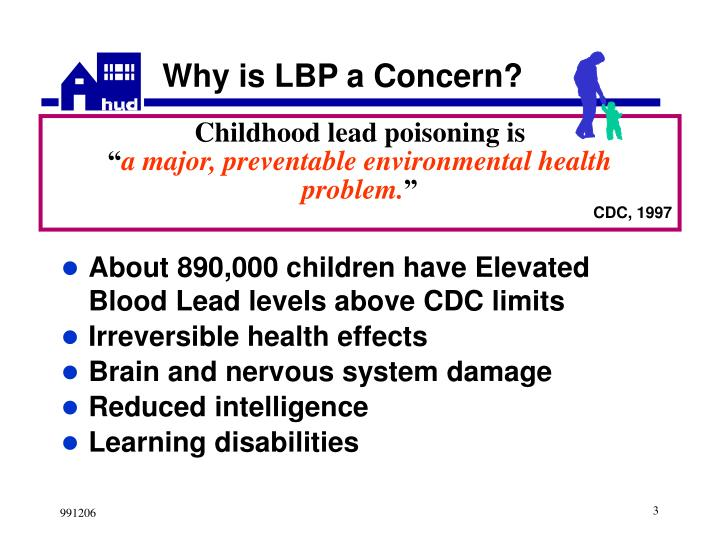 Why is lbp a concern