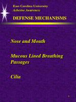 east carolina university asbestos awareness defense mechanisms