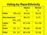 voting by race ethnicity