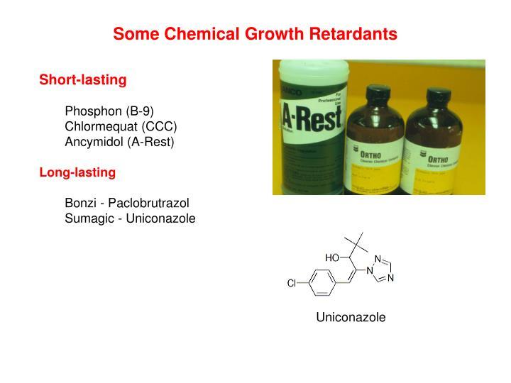 Some Chemical Growth Retardants