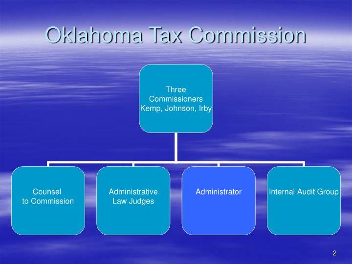 Oklahoma tax commission