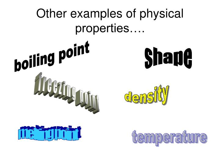 Ppt Chemical And Physical Properties Powerpoint Presentation Id