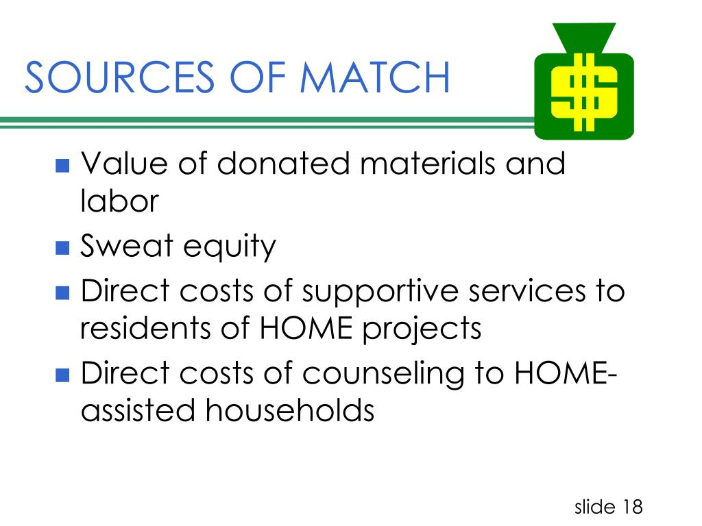 SOURCES OF MATCH
