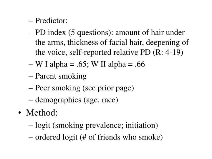 Predictor: