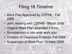 filing 16 timeline10