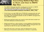 converting rusle mgt files to skels and then to weps mgt files1