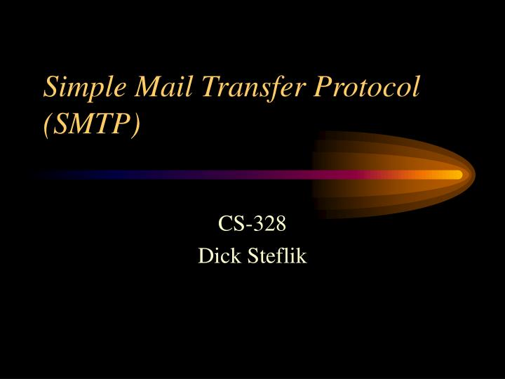 simple mail transfer protocol smtp n.