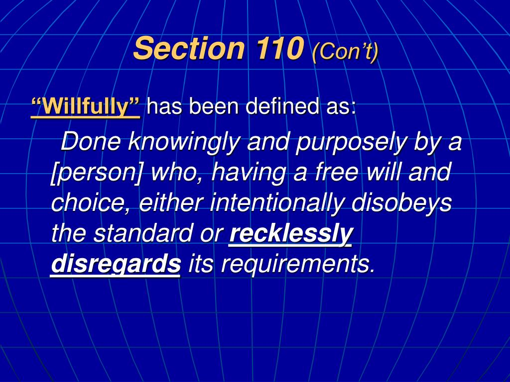 Section 110