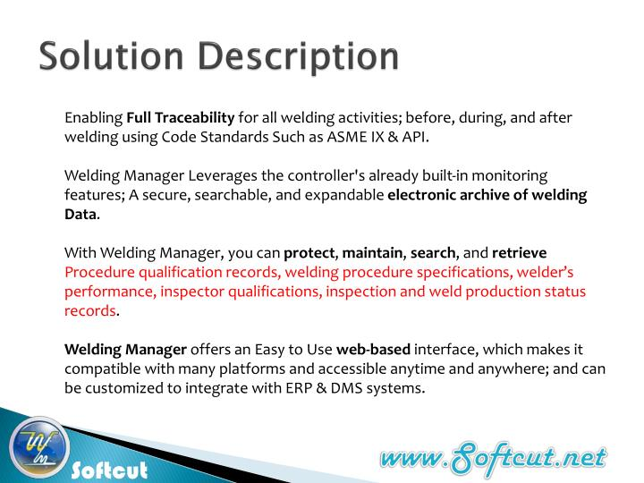 Solution description