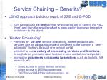 service chaining benefits