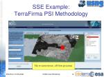 sse example terrafirma psi methodology