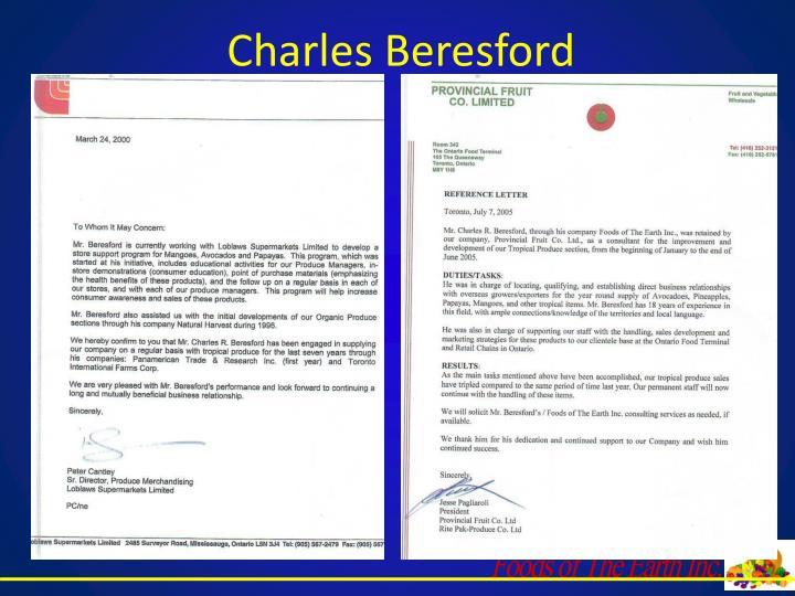 Charles Beresford