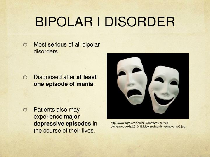 bipolar disorder bd Bipolar disorder is a mental illness that causes dramatic shifts in a person's mood, energy and ability to think clearly people with bipolar experience high and low moods—known as mania and depression—which differ from the typical ups-and-downs most people experience the average age-of-onset.