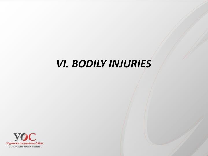 BODILY INJURIES