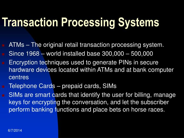 what is transaction processing 2 essay 2009 addendum to secured transactions outline from multi-state essays perfection by title endorsement debtor's fleet of delivery trucks is equipment for purposes of article 9.