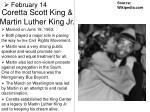 coretta scott king martin luther king jr