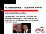 national issues obama platform8