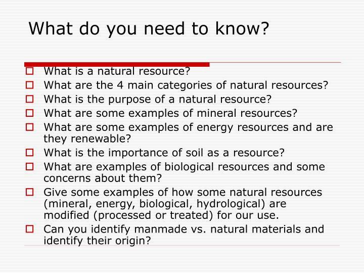 Natural Vs Processed Materials