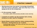 strategic summary