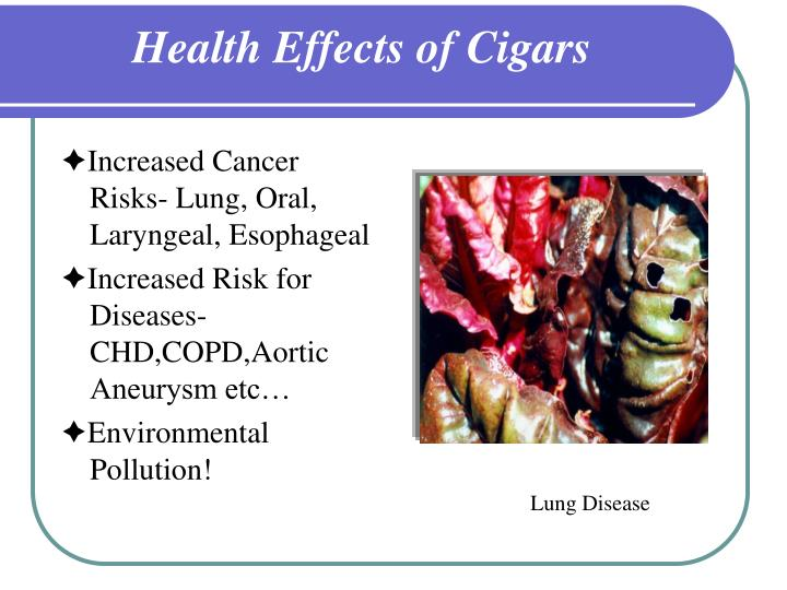 Health Effects of Cigars