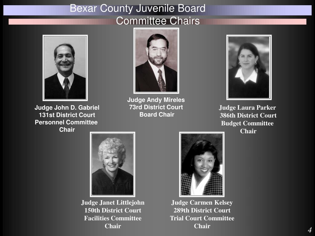 PPT - Bexar County Juvenile Board PowerPoint Presentation - ID:1445652