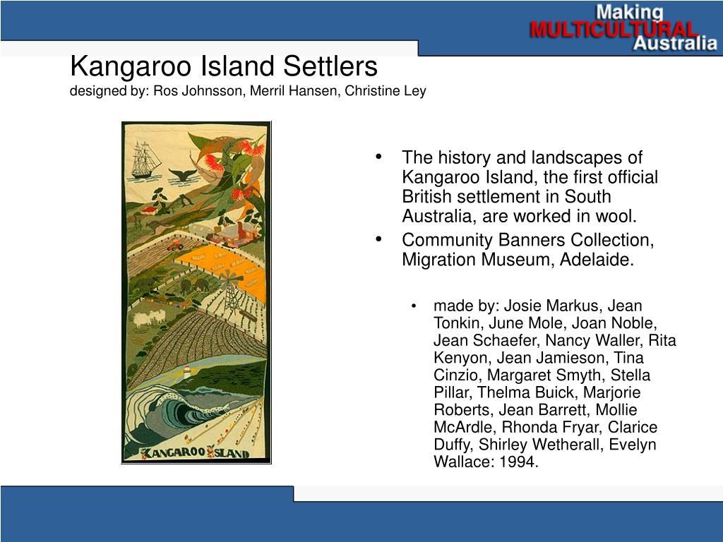 Kangaroo Island Settlers