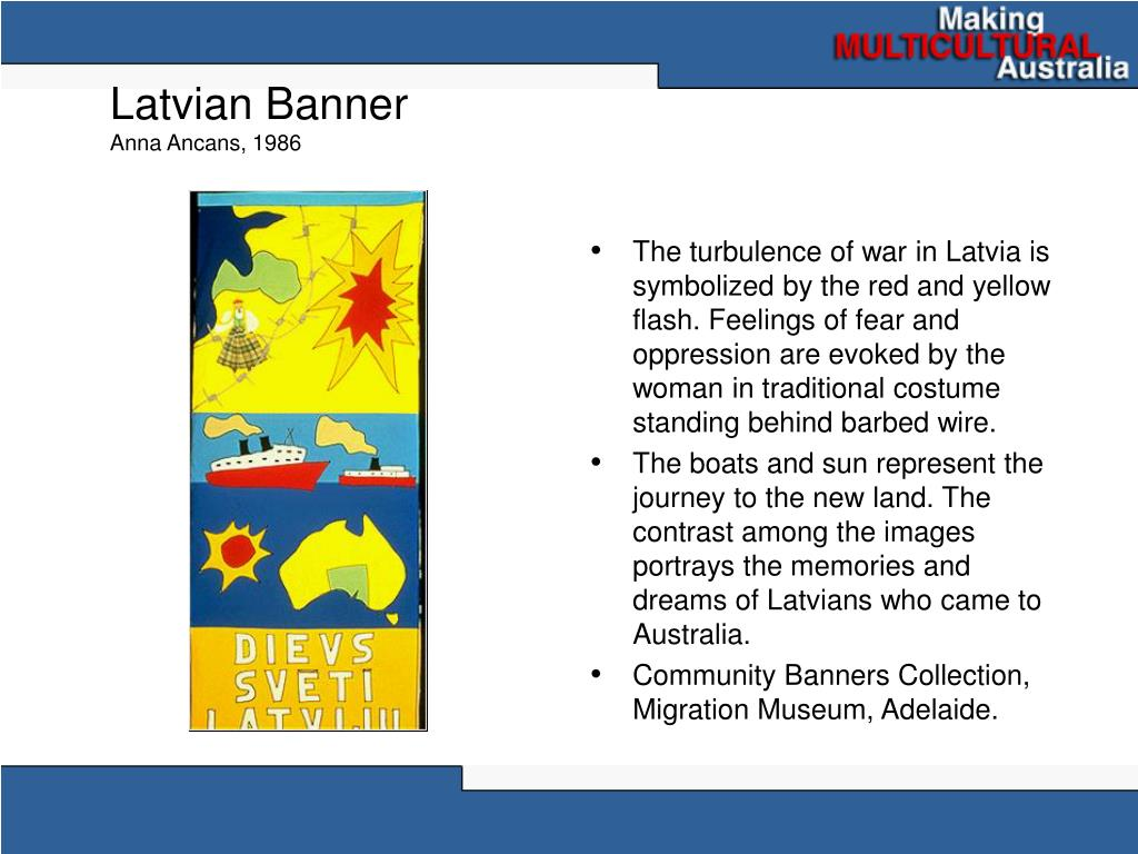 Latvian Banner