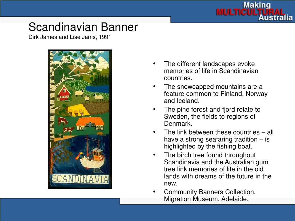 Scandinavian Banner