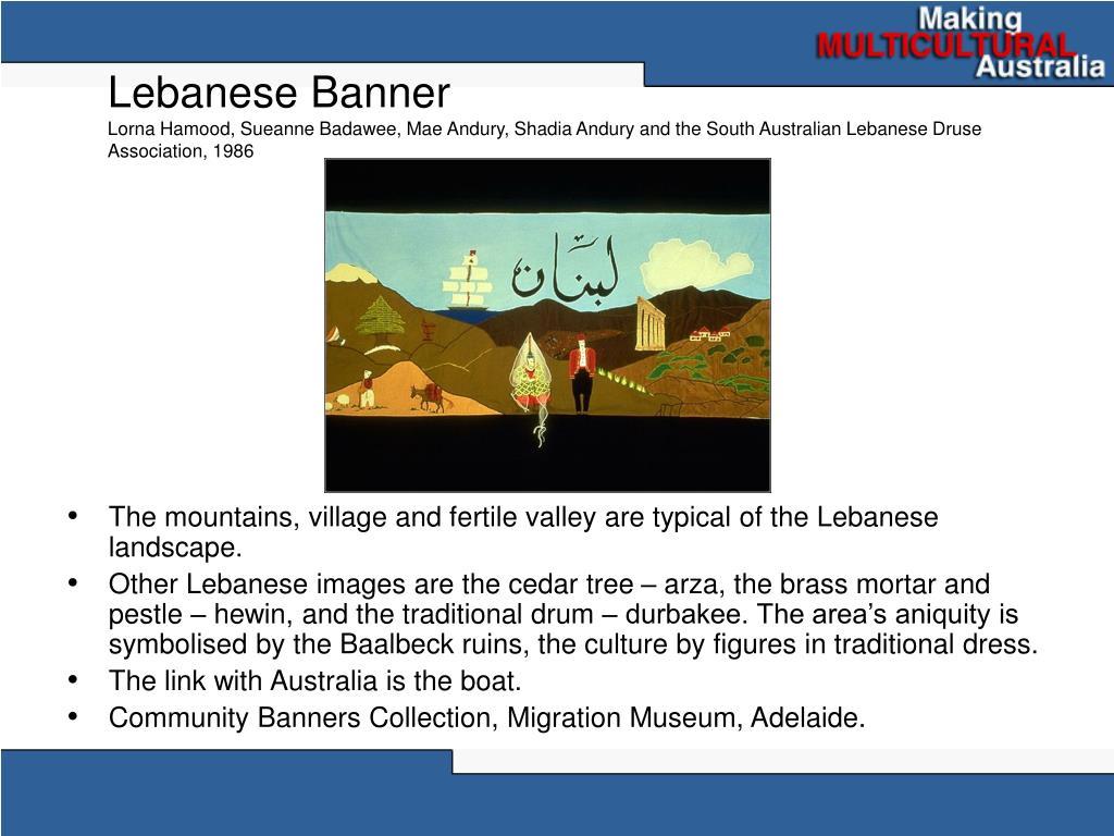 Lebanese Banner