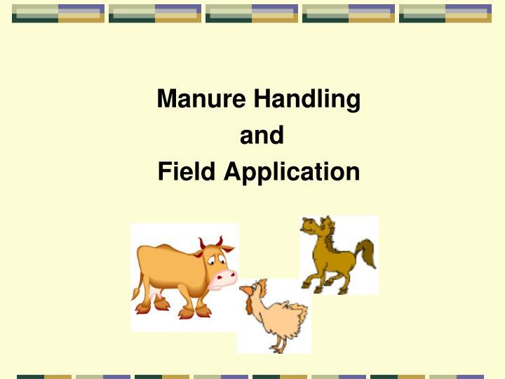 Manure Handling