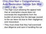 chin hooi nan v comprehensive auto restoration service sdn bhd 1995 2 mlj 100