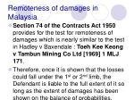 remoteness of damages in malaysia27