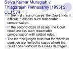 selva kumar murugiah v thiagarajah retnasamy 1995 2 clj 37445