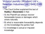victoria laundry windsor ltd v newman industries ltd 1949 2 kb 528